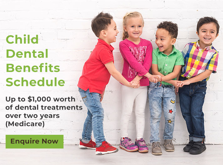 child dental benefits schedule banner port macquarie