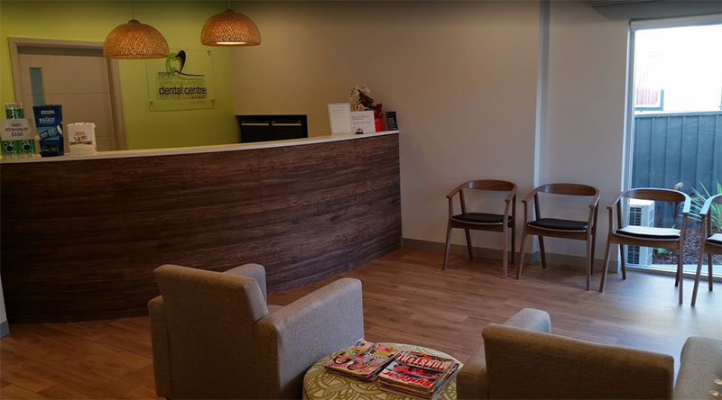 port macquarie dental centre reception area hd