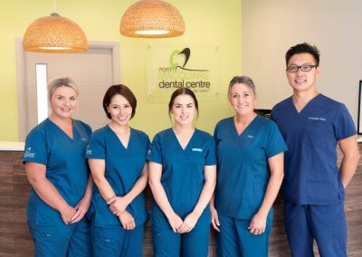 port macquarie dental centre dr dominic with staff