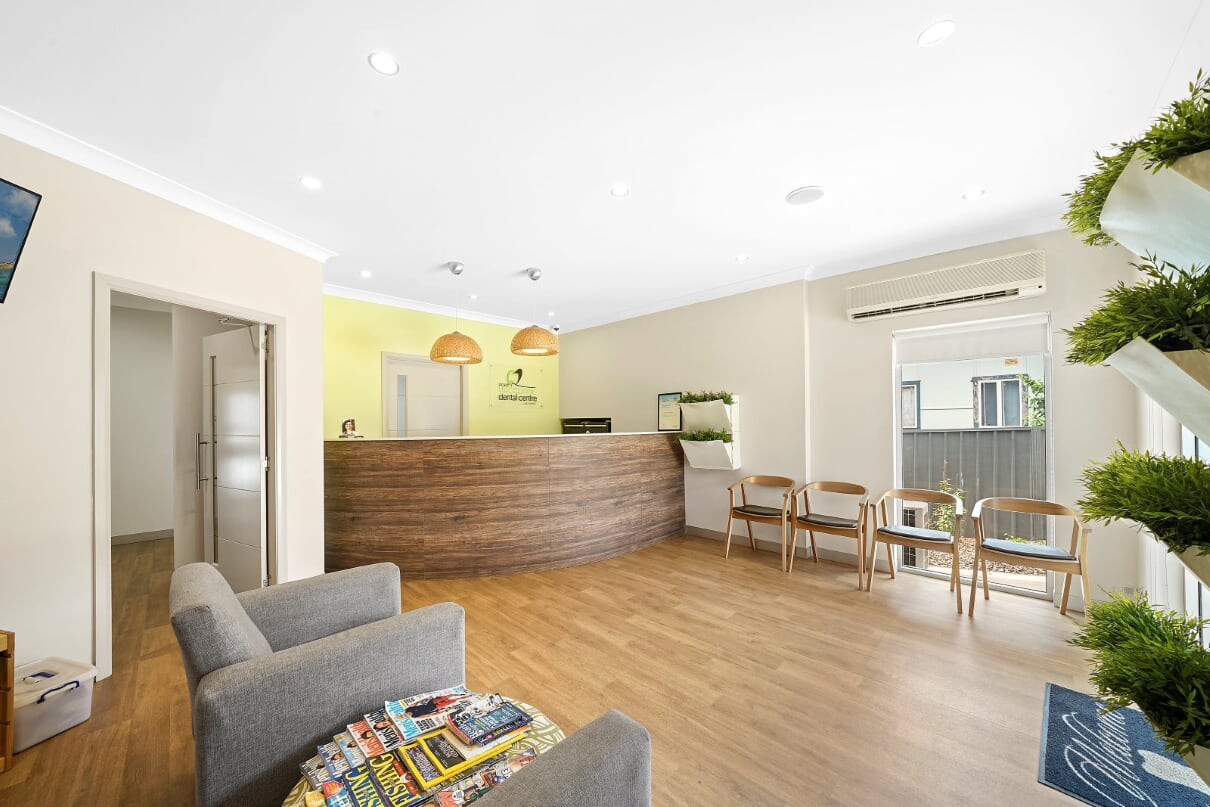 port macquarie dental centre reception area