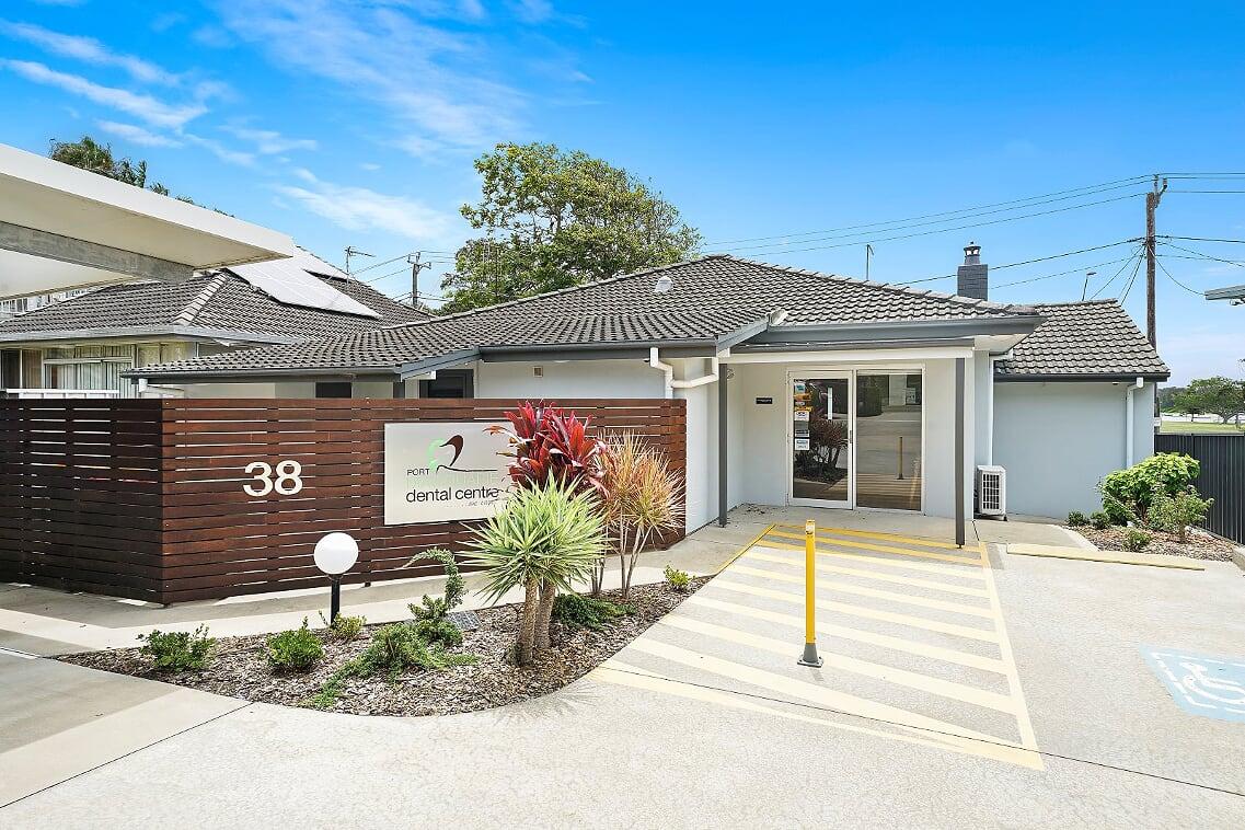 port macquarie dental clinic entrance